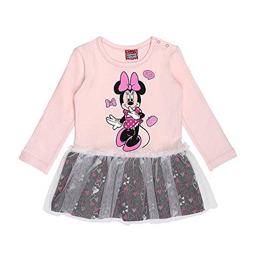 Disney ragazze minnie mouse vestito, rosa, taglia 86, 18 mesi