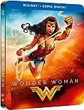 Wonder Woman (WONDER WOMAN STEELBOOK, Importé d'Espagne, langues sur les détails)