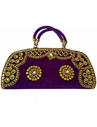 ALIVE SLING Bag For Women. Sling Bag - Shoulder Side Bag - Multipurpose (BLACK::GOLD) (PURPLE::GOLD)