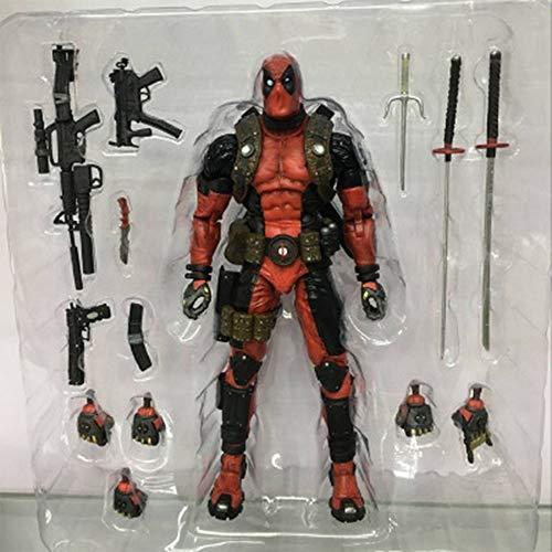 o Deadpool Mehrwaffenzubehör Aktionsdiagramm Modell 19cm ()