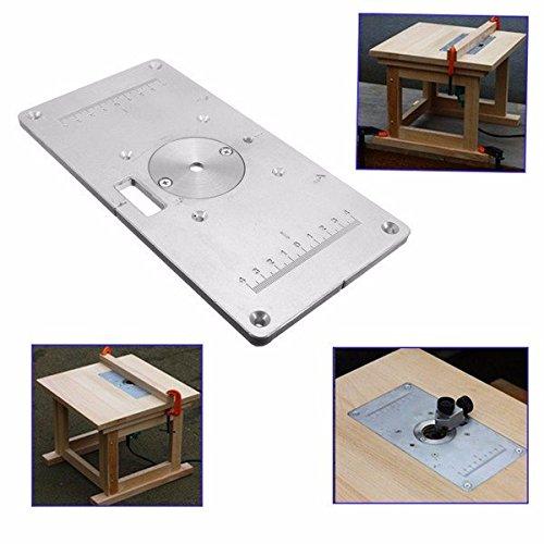 Adaalen 235mm x 120mm x 8mm aluminio mesa fresadora