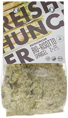 Reishunger Bio-Risotto Spargel - Fertigmischung für ein leckeres Spargel Risotto in 15 Minuten, 2er Pack (2 x 250 g)