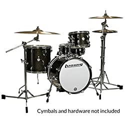 LUDWIG LC179XO16 - KIT BREAKBEATS QUESTLOVE BLACK SPARKLE Drumsets Jazz drumkit