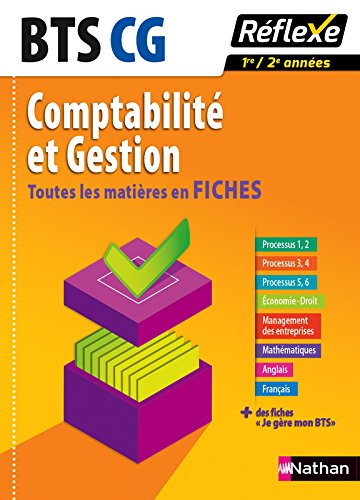 Toutes les matières en FICHES Comptabilité et gestion - BTS CG (11) par Nancy Baranes