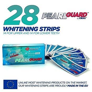Orax White Stripes Zur Zahnaufhellung, 28 Peroxidfrei Whitening Strips Für Weisse Zaehne, Zähne Bleichen In 14 Tagen 2