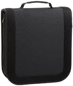 AmazonBasics CD / DVD Wallet 128 Disc Capacity Nylon Black