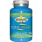 Total Vegan- 10 Ingredienti Per Supportare La Dieta Vegana - Integratore Alimentare Di Aminoacidi, Acido Alfa Linolenico, Rhodiola Rosea E Vitamine. - 60 Capsule - Ultimate Italia - 51e3NZXnOvL. SS166