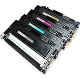 4 Toner für SAMSUNG CLX-3305 FN kompatibel CLT-P406C XL alle Farben CLX-3305FN Schwarz, Cyan, Magenta, Gelb Premium Tonerkartuschen Tonerpatronen Set
