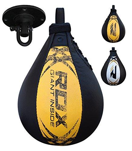 RDX Herren Sbx-S1Y Boxen Drehkugellagerung Boxbirne Doppelendball, Gold, Einheitsgröße