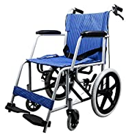 Wheelchair Folding portable wheelchair Elderly cart Wheelbarrow for disabled persons Light weight wheelchair