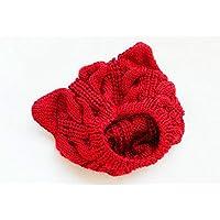 tia-ve invernale di lana berretto cappello berretto lana Orecchiette caldo