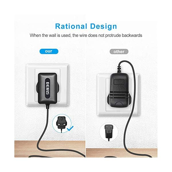 BERLS 6v Power Adapter Charger Replacement Power Lead for Motorola MBP26 MBP33 MBP35 MBP36 MBP36PU MBP41 MBP41BU MBP41PU MBP43 MBP43BU Digital Video Baby Monitor Power Supply BERLS Input: 100-240V AC, 50-60Hz Output: 6V 2A, With four interfaces Compatibility: Motorola MBP33 / MBP36 / MBP26 / MBP26-B / MBP26PU / MBP26BU / MBP33BU / MBP33P / MBP35 / MBP35T / MBP36 / MBP36PU / MBP41 / MBP41BU / MBP41PU / MBP43 / MBP43BU / MBP481 / MBP483 / MBP485 / MBP482XL / MBP700 / MBP18 / MBP34 / MBP18PU / MBP26PU / MBP33PU / MBP34PU / MBP35BW / MBP36BU / MBP43PU / VlJ-MBP25BU MBP25 / MBP25BU / MBP25-2 / MBP25 / 2 MBP25 / 3 MBP25 / 4 MBP20 / MBP20PU / MBP20BU Connect Motorola Video Baby Monitor 6