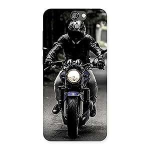 Impressive Bike Rider Multicolor Back Case Cover for HTC One A9