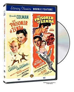 The Prisoner of Zenda (1937 & 1952) 2 disc edition (region 2) by Ronald Colman