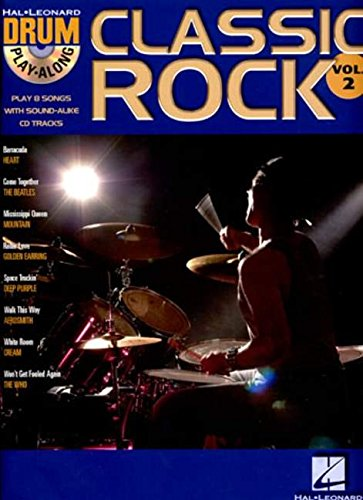 Clasic Rock: v. 2: Drum Play-along (Hal Leonard Drum Play-Along)
