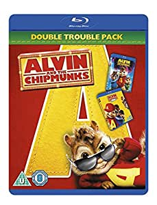 Alvin and the Chipmunks / Alvin and the Chipmunks 2: The Squeakquel Double Pack [Blu-ray] [2007]