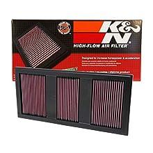 K&N 33-2985 Voiture Filtre à Air de Remplacement, Lavable et Réutilisable
