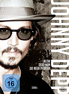 Johnny Depp - Dead Man / Blow / Die neun Pforten [3 DVDs]
