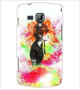 Printdhaba Abstract Design D-5887 Back Case Cover For Samsung Galaxy S Duos S7562