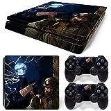 46 North Design pieno sticker della pelle skin Zombie Horror per le console PS4 Slim x 1 e controller x 2