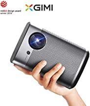 XGIMI Halo Smart Mini Projector, 1080P 800 ANSI Lumen Portable Projector, Android TV 9.0, Support 2K/4K, Wifi