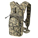 Clothin Sport Military Camping Hiking Mountaineering Bag Traveling Bag Gray Camo
