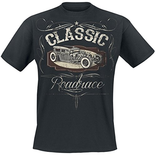 Classic Hot Rod T-Shirt nero M