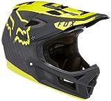 Fox Herren Rampage Pro Carbon Moth Helm, Black/Yellow, XL