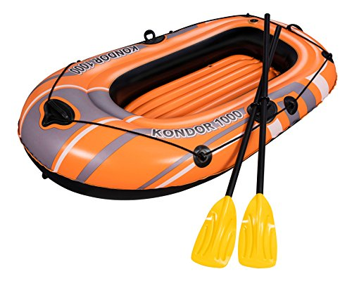"Bestway \""Hydro-Force Raft Set\"" Boot 155x93cm mit 2 Rudern"