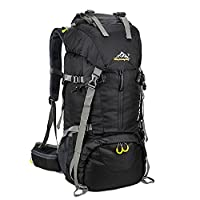 Skysper 50L Backpack Travel Hiking Camping Rucksack Backpack with Rain Cover