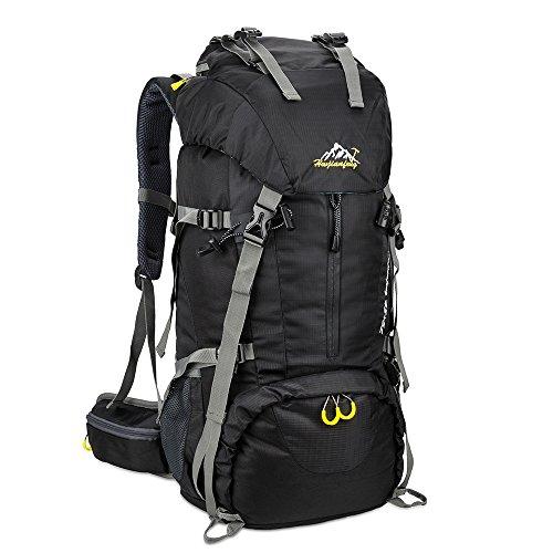 Imagen de skysper 50l  de senderismo al aire libre  de senderismo macutos impermeable ergonómica para viajes excursiones acampadas trekking