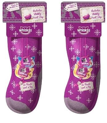 Whiskas Cat Christmas Stocking x 2 Packs