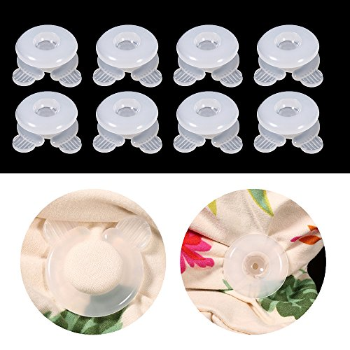 8 Stück Bettdecken clips,Bett Tröster Greifer,Bettdeckenhalter,Bettdecken Greifer,Decken Greifer -