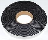 Neoprene gomma spugna autoadesivo striscia 20mm di larghezza x 6mm di spessore x 10m Long–Weather, Noise Seal