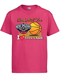 Camiseta NBA New Orleans Pelicans Baloncesto Basketball fan I Love This Game