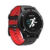 GPS fitness tracker intelligente orologio cardiofrequenzimetro,Activity Tracker orologi braccialetto di sport per uomo e donna,altimetro termometro barometro contapassi modalità Multi sport per smartphone Android o iOS