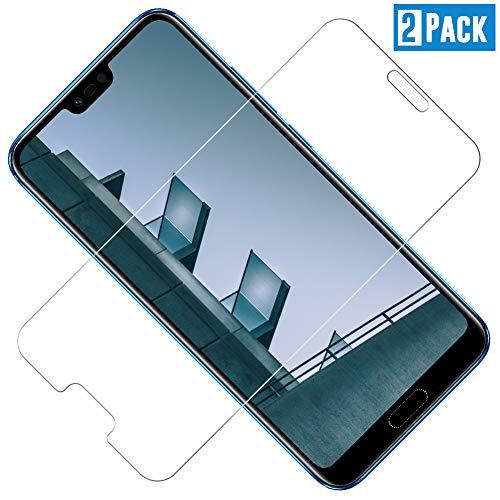 TOIYIOC [2 Stück Panzerglas Schutzfolie für Huawei Honor 10, 0.30mm Ultra-klar Folie Panzerglasfolie, Bildschirmschutzfolie kompatibel Huawei Honor 10