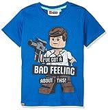 Lego Wear Jungen T-Shirt Star Wars M, Blau (Blue 569), 140