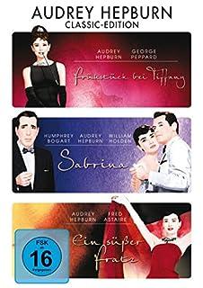 Audrey Hepburn : Frühstück bei Tiffany - Sabrina - Ein süßer Fratz - 3DVD Box