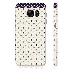 Amey Anchor Back Cover For Samsung Galaxy S6 Edge