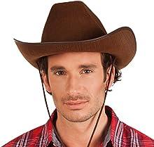 Boland 04097 - adultos sombrero de vaquero, Einheitsgröß?e, marrón