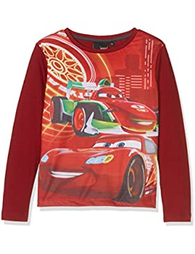 Disney Cars Lightning MC Queen Race Car, Camiseta para Niños