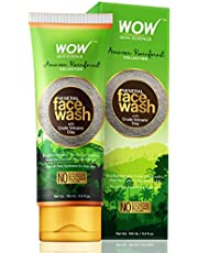WOW Skin Science - Amazon Rainforest Collection - Mineral Face Wash with Crude Volcanic Clay - 100mL - TUBE