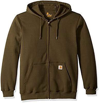 Carhartt idweight Hooded Zip-Front weatshirt Sudadera con Capucha, usgo, XX para Hombre