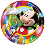 Mickey Mouse Party Time - Mickey Mouse Party Plates x 10 by Missy Moo