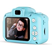 Zowam Digital Camera,800W HD 2.0 Inch Screen Video Front and Rear Camera Recorder Camera for Kids Boy Girl,Best Birthday…