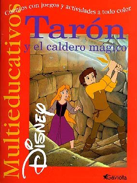 Tarón y el Caldero mágico: cuentos con juegos y actividades a todo color