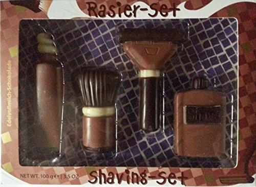 Preisvergleich Produktbild Baur Edelvollmilch-Schokolade Rasier-Set