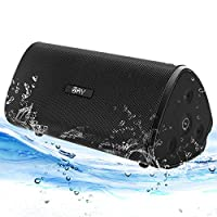 Bluetooth Boombox, AY 30W Portable Bluetooth 4.2 speaker with HD Stereo, IPX7 Waterproof Wireless Speakers, Extra Bass with TWS, Built in Mic, 24H-Playback Perfect for Camping, Garden, Outdoors,Party.