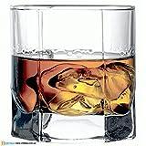 #8: Pasabahce Tango Whisky Glass,315 ml, Set of 6